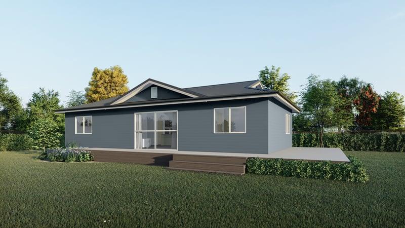 Three bedroom new build house