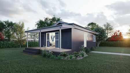 2 bedroom prefab home