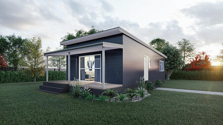 Prefab home new plymouth