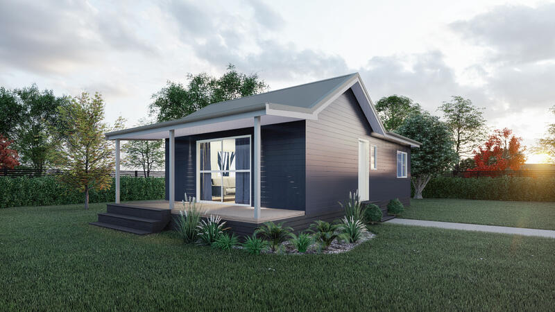 Two bedroom villa house design from Manor Build