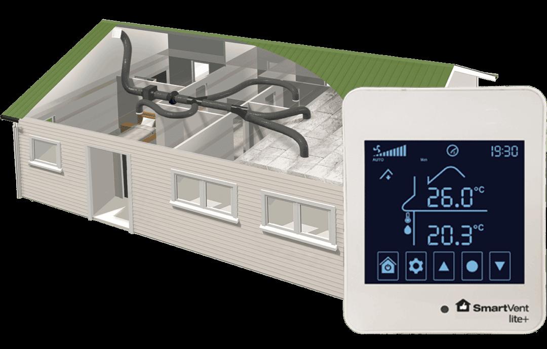 SmarVent positive pressure ventilation system