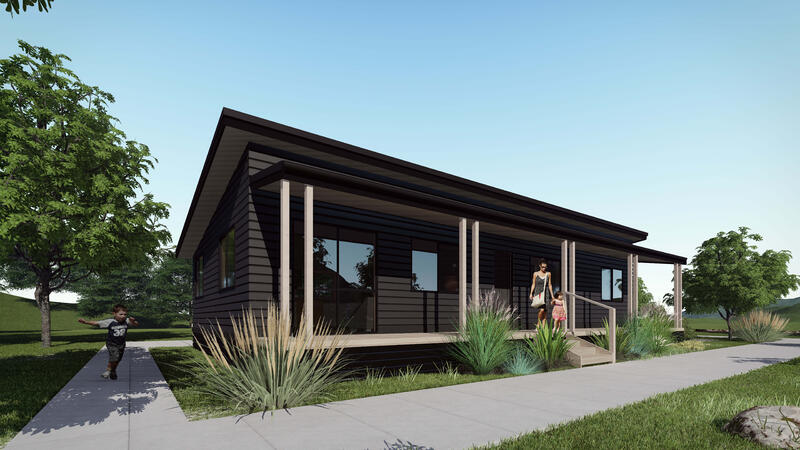 Three Bedroom prefabricated home new plymouth