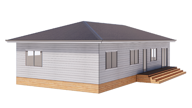 Hip roof style