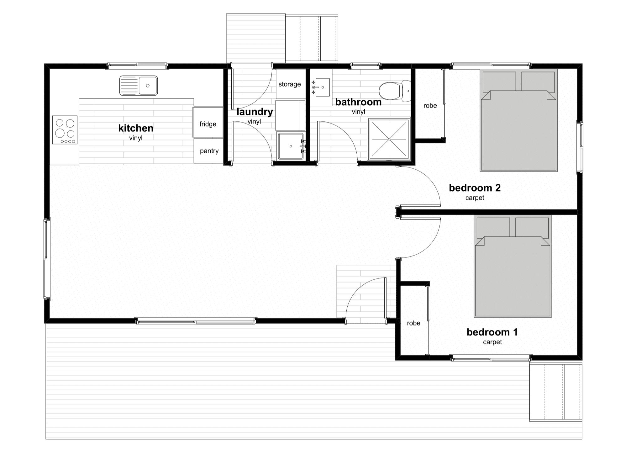 Prefab home Floorplan