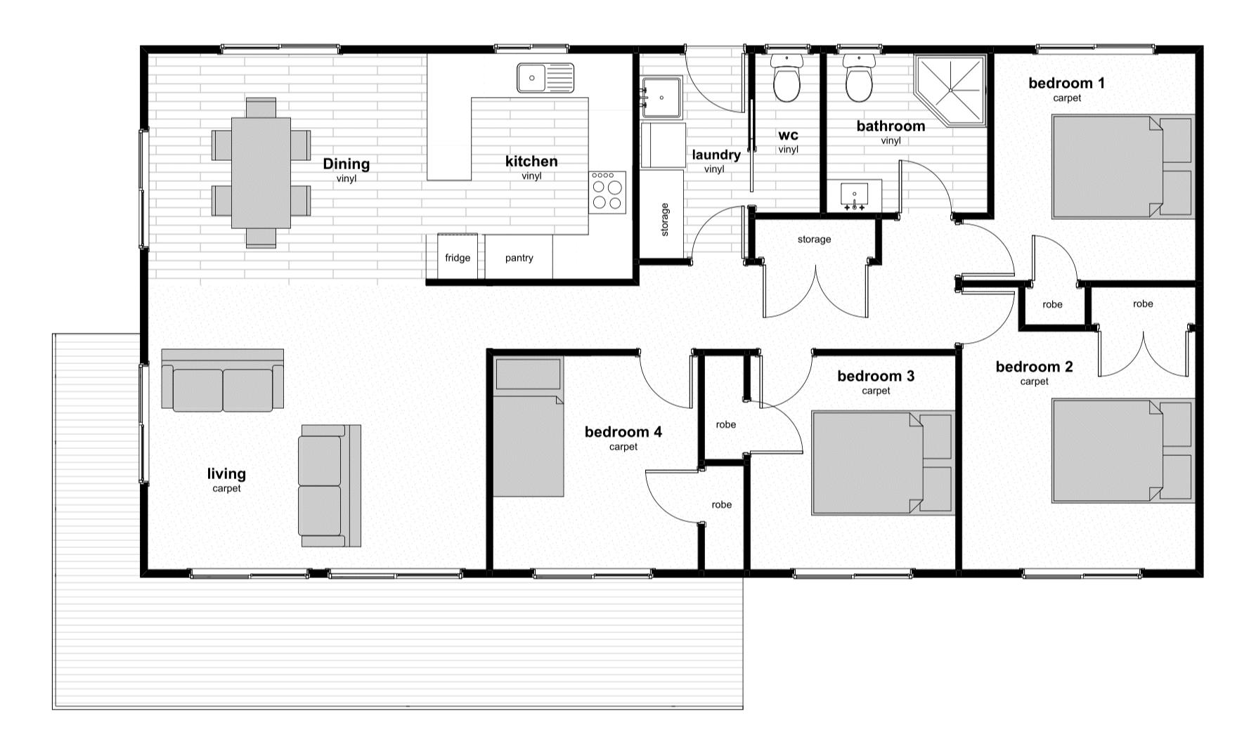 Wisconsin Floorplan