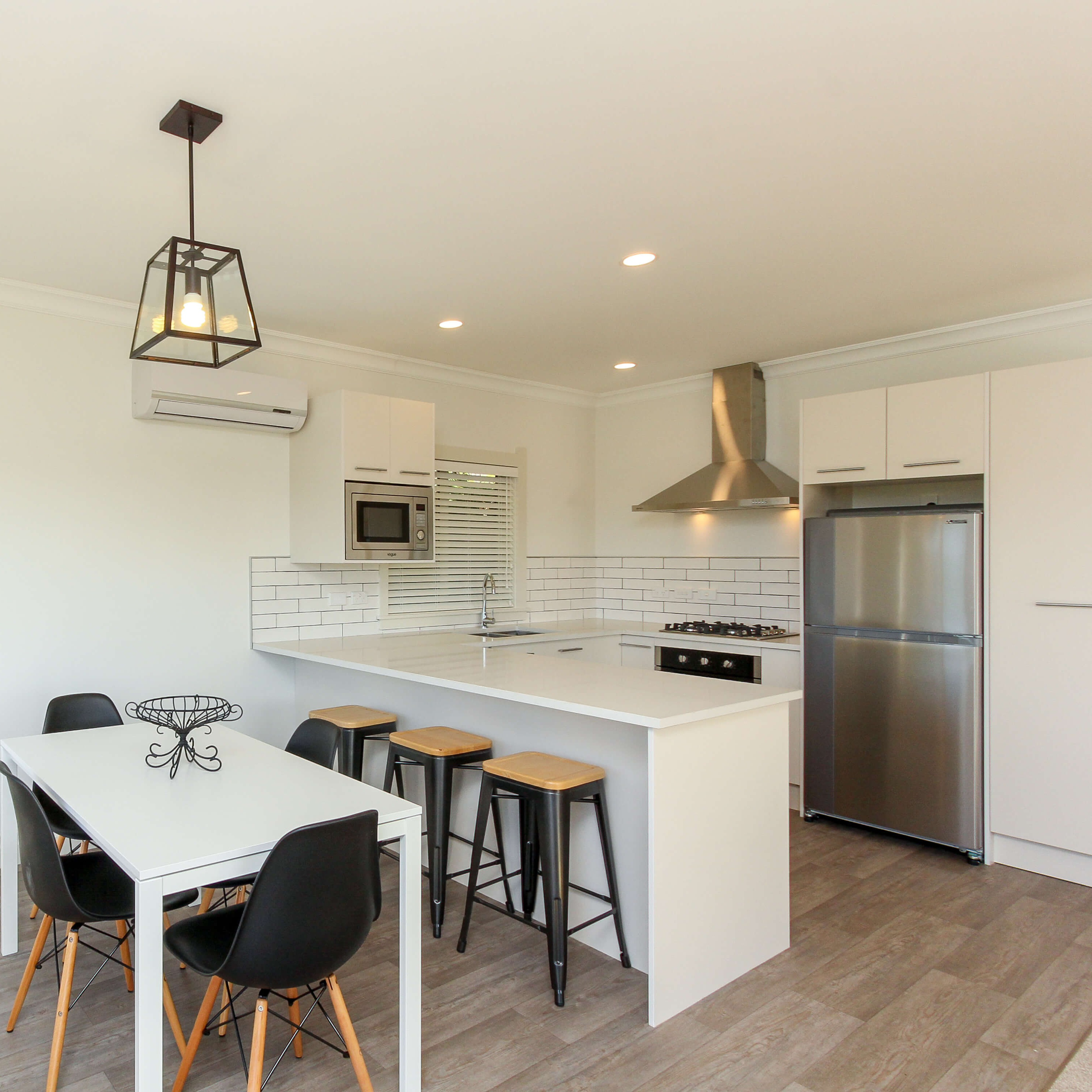 What appliances come with a prefab home